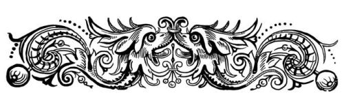 Public Domain Bound Monsters Ornament by Aazari-Resources
