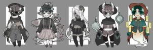 [OPEN || 1] Witchlings Set 2 by KingOfSadism