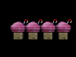 little candy houses by megan-bricen