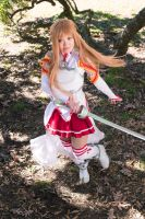 Asuna Yuuki Dances by firecloak