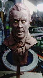 Christopher Lee Draculahammer horror by barbelith2000ad
