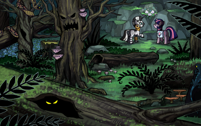 Everfree Forest by emlan