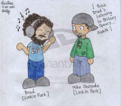 Brad and Mike chibi by ShinodaFans