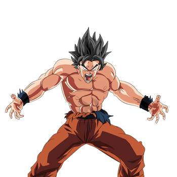 Goku's New Transformation Render by nourssj3