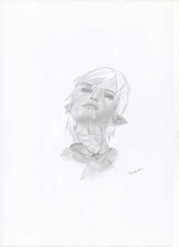Another Fenris drawing by Roweidekhalicon
