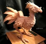 Chocobo Sculpt by ArtKreed