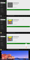 Windows8.1 XBox musicplayer for all Windows OS by PeterRollar