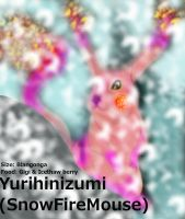Yurihinizumi 'snowfiremouse' by TwinWolfSister