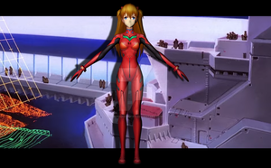 Asuka Langley (plugsuit) by Pitermaksimoff