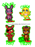 Five Nights at Chibis by Hatty-hime