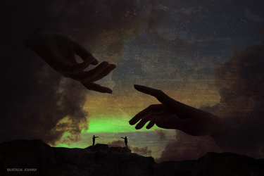 Our hands by Morteze