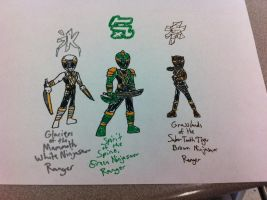 Power Rangers Ninjasaur 2 by hotjohnimus