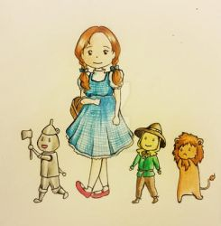 Wizard of Oz by rabbitDoodles