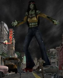 Night Of The Giant Dead by roodedude
