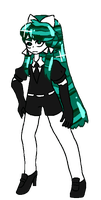 HNK OC - Malachite by tsubakuraqua