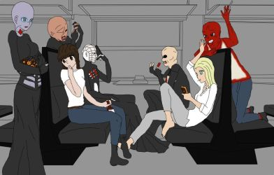 On the Cenobite Express by MonMonMouse
