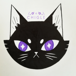cat by Chigle