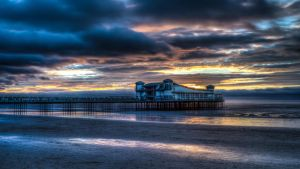 'Sunset over the Grand Pier' by FunkyBah