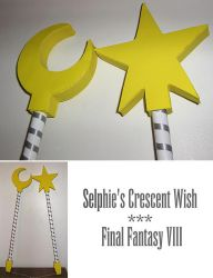 Selphie's Crescent Wish by Stars-of-the-Water