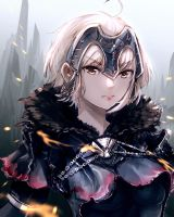 FGO - Jeanne Alter by anonamos701