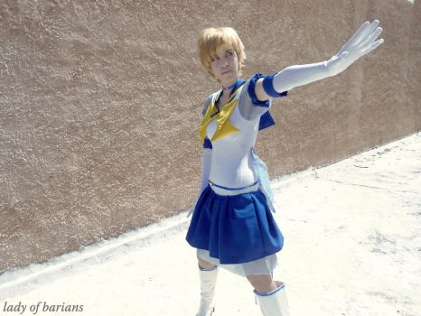 Sailor Uranus - the pride of a soldier by LadyOfBarians