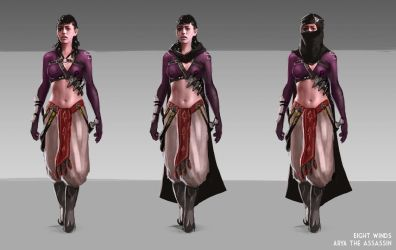 Eight Winds - Assassin by Gourmandhast