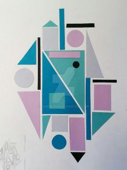 Geometric abstraction by Dropdeadh