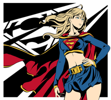 Supergirl by bleuwing
