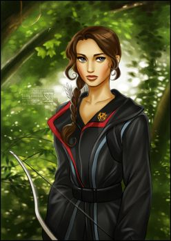Hunger Games: Katniss by daekazu