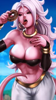 Android 21 by dandonfuga