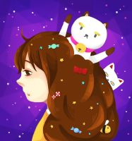 Bee and Puppycat by eight-bears