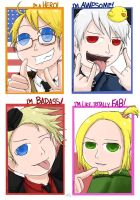 APH: Fab Badass Awesome Heroes by Chocoreaper