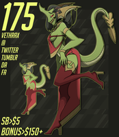 Adoptable - 175 (AUCTION) by Vethrax