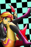 EG:RR Sunset Shimmer by DLowell