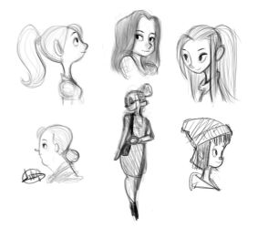 Night sketches 6-27-15 by LuigiL