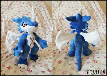 Exveemon Plush by d215lab