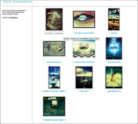 Blue CSS 4 Gallery -download- by LonelyDiary
