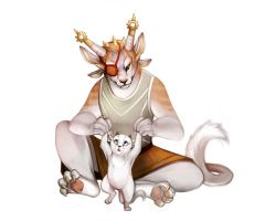 Lyza and her cub by KirscheTea