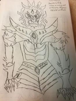 Demise The Lord Of Chaos, Destruction And Agony by MoonRaiserDragon