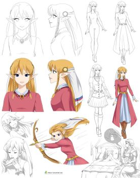 Zelda's daughter, Lilly (commission) by Precia-T
