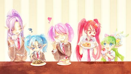 FAVORITE FOOD! by MizoreAme
