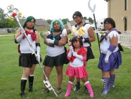 Outer Sailor Soldiers by Emagyne