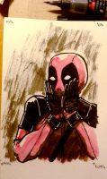 Deadpool - daily drawing 160215 by Lumaga