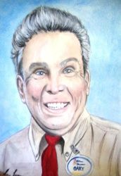 Watercolor Portrait of Gary White by A-Fragile-Smile