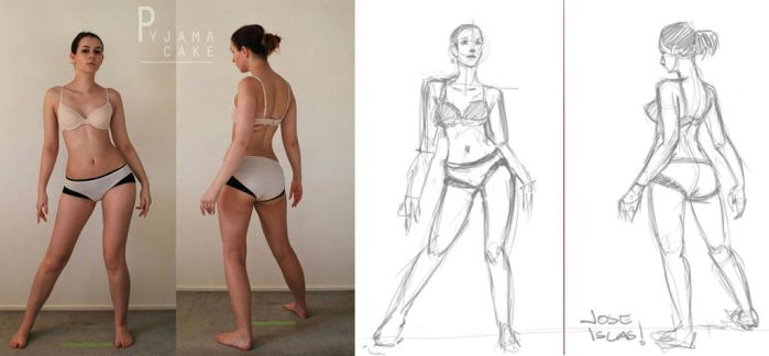 SKETCH THIS - POSES by TopoGuren