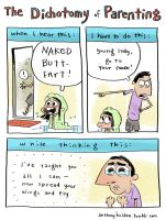 The Dichotomy of Parenting by AnthonyHolden