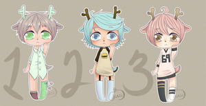 2015 Adopts 2 AUCTIONS [CLOSED] by DramaticPumpkin12