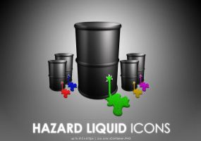 Hazard Liquid icons by MDGraphs