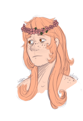 coby with long hair by waywardJellyfish