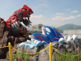 Groudon VS Kyogre 1